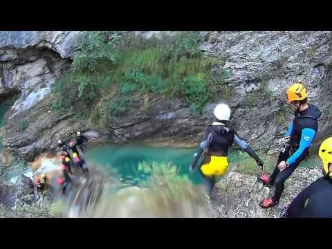 Canyoning Rio Barbaira - Rocchetta Nervina -  IM - Italia Travel Video