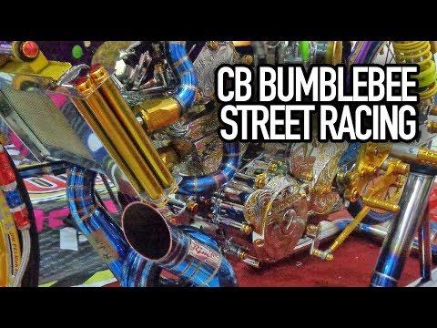 Motor Kontes Honda Cb Bumblebee Ototrend Street Racing
