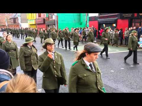 Easter Rising Parade Belfast 2016