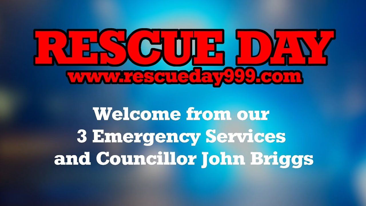 Welcome to Virtual Rescue Day 2020 from our 3 Emergency Services