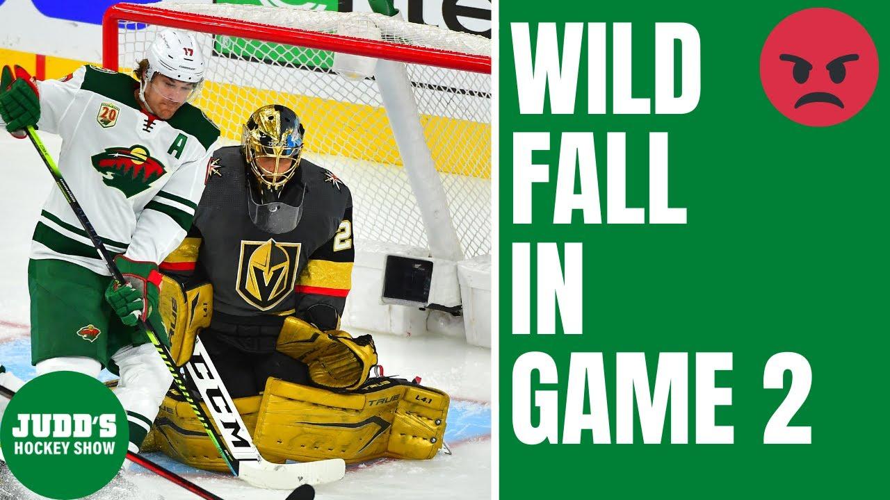 Minnesota Wild LOSE in Game 2 to Vegas Golden Knights  SKOR ...