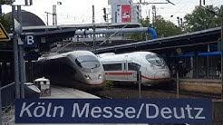 10 Min Köln Messe/Deutz: ICE 3,ICE 3 Velaro D,ICE 4