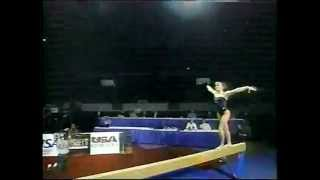 Shannon Miller Balance Beam-1997 Reeses Gymnastics - One Moment In Time Thumbnail