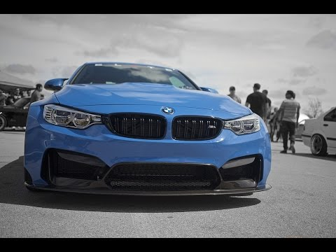 Brutal BMW M4 exhaust sound acceleration and rev BMW M4 F82 F83