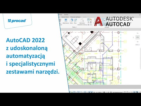 AutoCAD 2022 z udoskonaloną automatyzacją i specjalistycznymi zestawami narzędzi. | NetCafe