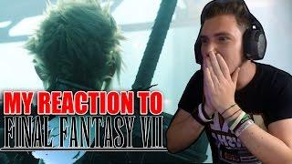 MY REACTION to FINAL FANTASY VII REMAKE - E3 2015