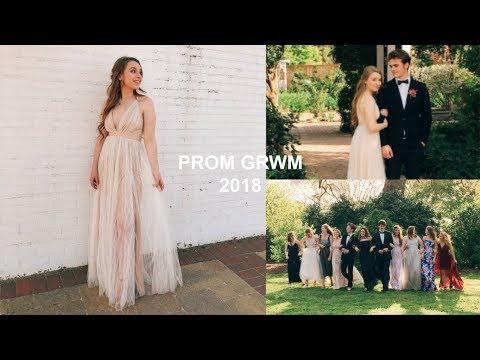 PROM GRWM 2018 // Senior Prom