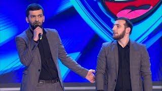КВН Сборная вузов Чеченской республики - 2017 Премьер лига Вторая 1/4 Приветствие