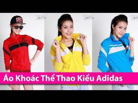 Áo Khoác Thể Thao Kiểu Dáng Adidas Cho Nữ - Áo Khoác HCM Chuyên áo Khoác Thời Trang AoKhoacHCM.com