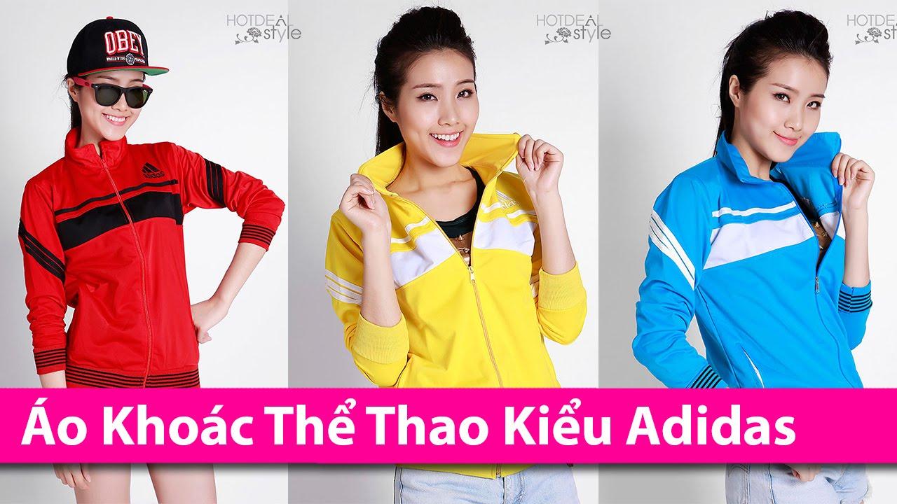 Áo Khoác Thể Thao Kiểu Dáng Adidas Cho Nữ – Áo Khoác HCM chuyên áo khoác thời trang AoKhoacHCM.com