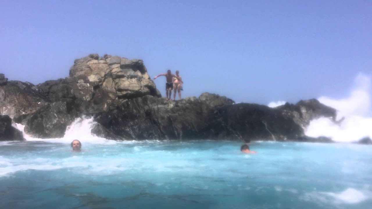 How To Get To Aruba Natural Pool