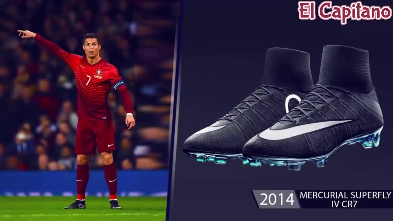 8ec01f1cdeb The Evolution of Cristiano Ronaldo s Nike Boots From 2003 - 2017 ⚽ El  Capitano