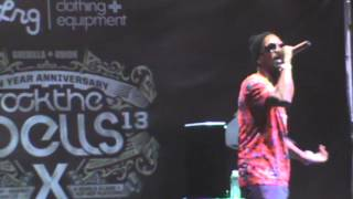 ROCK THE BELLS 2013 - JUICY J  - SMOKIN