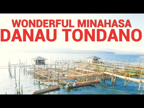 Pesona Minahasa Danau Tondano Terbesar di Sulawesi