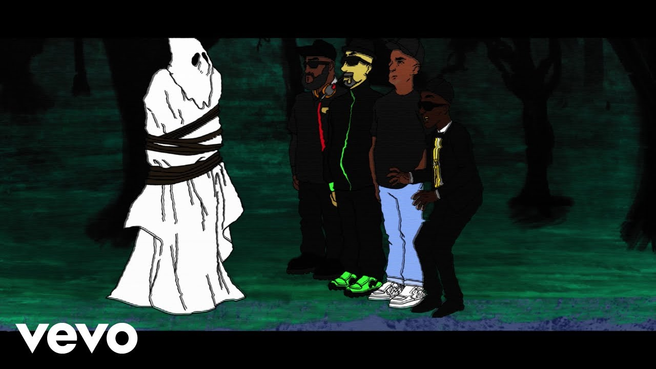 Public Enemy - GRID (Animated) ft. Cypress Hill, George Clinton