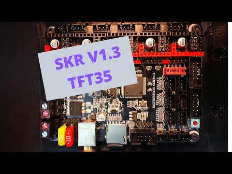 SKR 1.3 - TFT35 Touch Screen Display