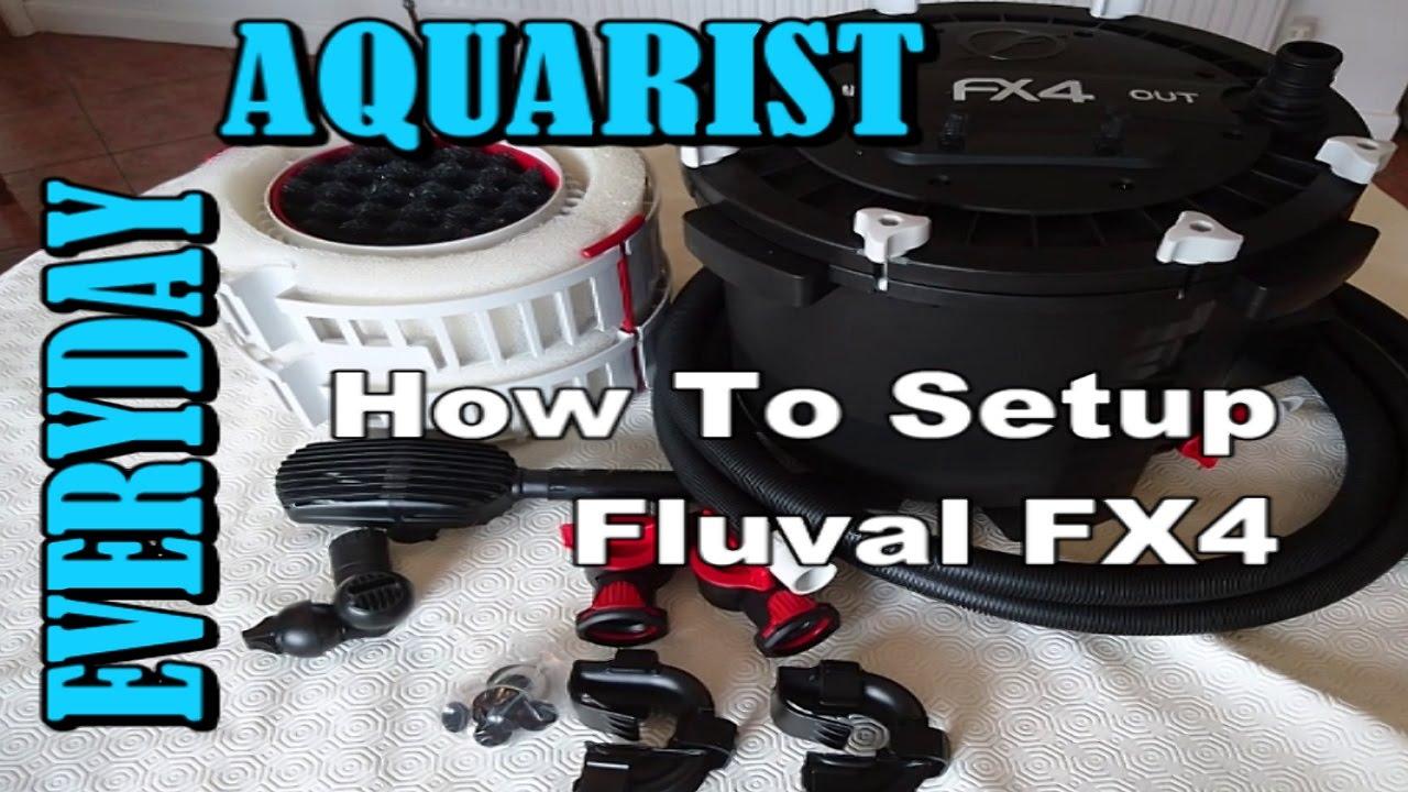 AQA.com.ua - Обслуживание внешнего фильтра HAGEN FLUVAL FX5 - YouTube