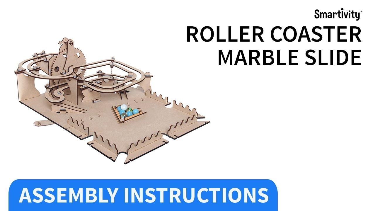 Download SMARTIVITY   Roller Coaster Marble Slide   (Instruction Video)