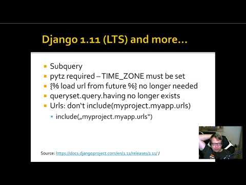 Upgrade a Django App from 1.8 to 1.11 - Part 1/2