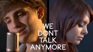 We Don't Talk Anymore - Charlie Puth ft. Selena Gomez (Cover) - Alycia Marie & Chris Brenner