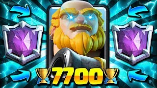 *NEW!* 3.0 ROYAL GIANT CYCLE! 7700+ TROPHY ULTIMATE CHAMPION DECK!! - Clash Royale