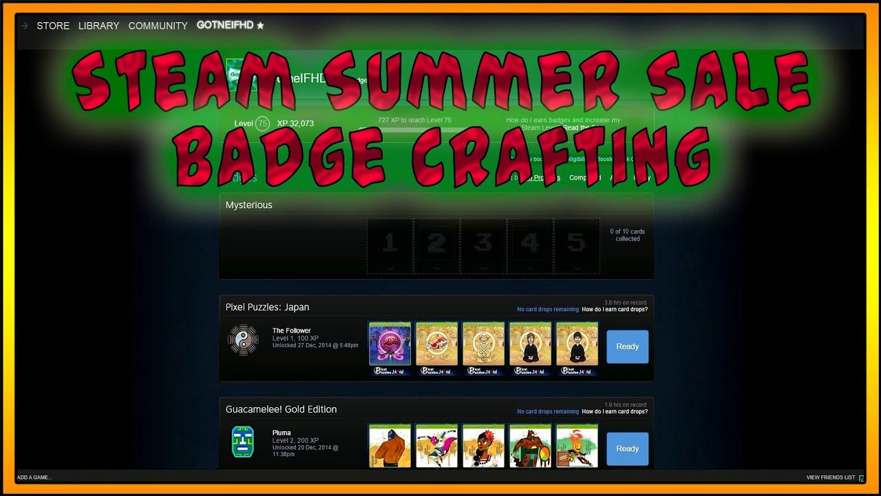 Steam summer sale 2017 badges cs go happy pov