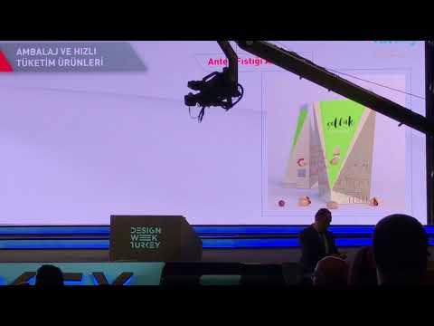 Design Week Turkey 2017 Ödül Töreni