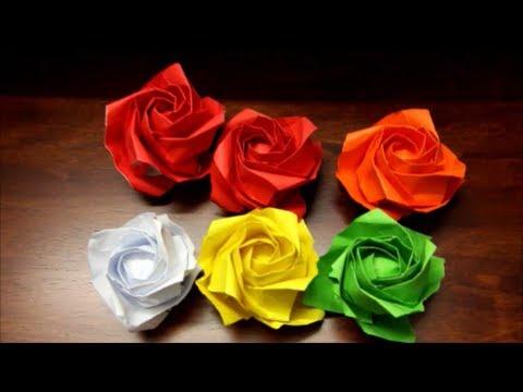 Origami Kawasaki Rose Bud – Origami Tutorials | 360x480