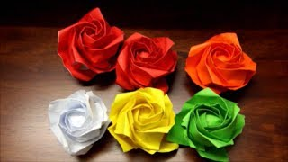 Origami New Kawasaki Rose PART 2