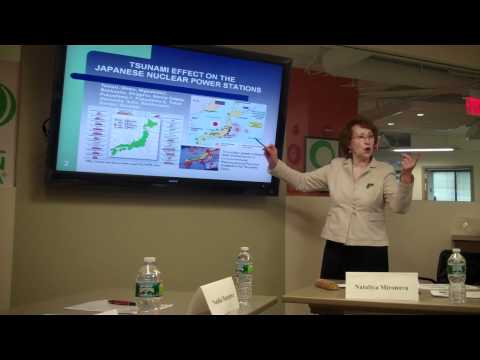 Global Green USA: The Future of Nuclear Energy, Chernobyl and Fukushima -- Mironova Part 1