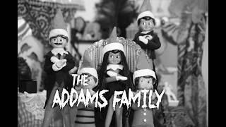 12 Days of Elf on the Shelf: The Addams Family