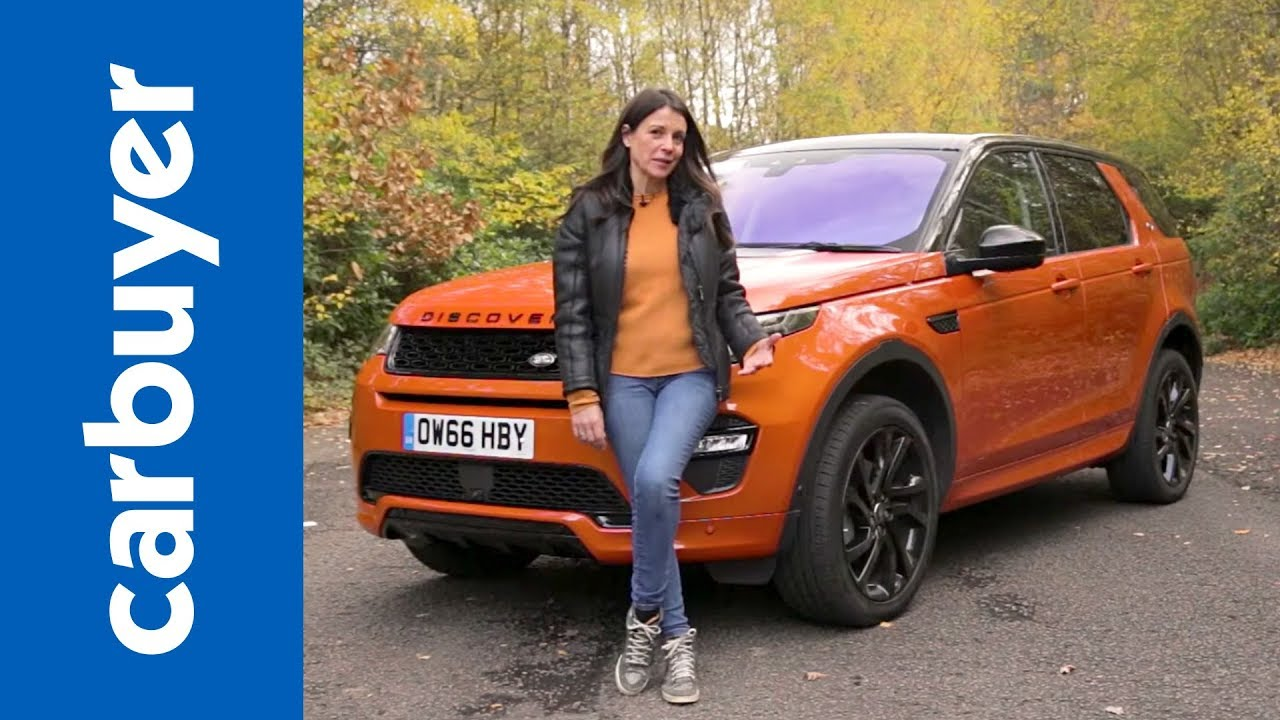 land rover discovery sport suv 2015-present review - carbuyer - youtube