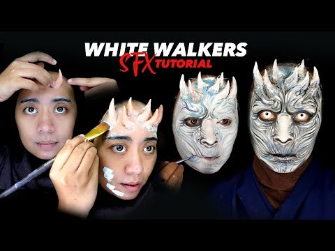 SFX Makeup Tutorial White Walkers | Game Of Thrones Makeup Special effect