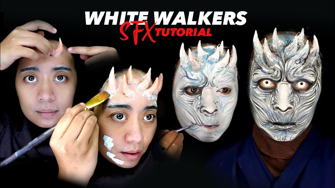 Sfx makeup tutorial white walkers game of thrones makeup special sfx makeup tutorial white walkers game of thrones makeup special effect baditri Images