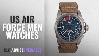 10 Best Selling Us Air Force Men Watches [2018 ]: United States Air Force Military Watch