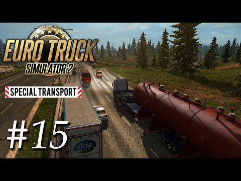 Euro Truck Simulator 2 #15   Special Transport DLC Tour mit 70Tonnen   Deutsch / German   Gameplay