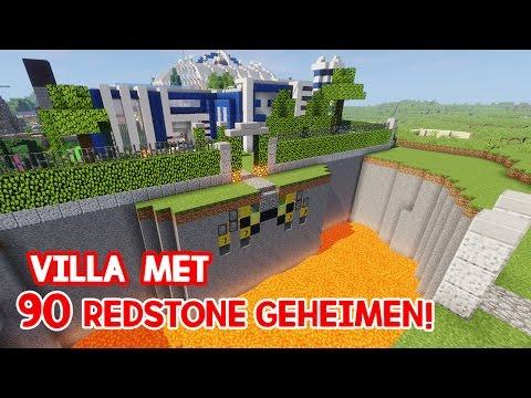 VILLA MET 90 REDSTONE CREATIES!