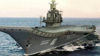 British Navy Destroyer Confronts Russian Aircraft Carrier Group In The English Channel MUST SEE