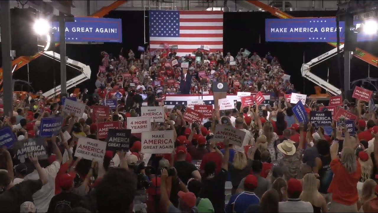 Watch Live President Trump Holds Campaign Rally In Las Vegas Nv 9 13 20 Youtube