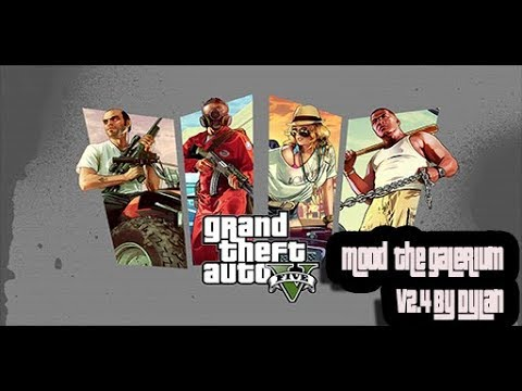 GTA 5 PS3 [ HOW TO INSTAL MODS MENU THE GALERIUM V2 4 BY DYLAN57 FOR