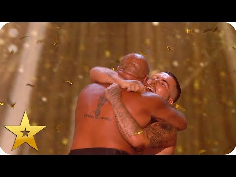 Legendary Stavros Flatley get Simon Cowell's Golden Buzzer! | BGT: The Champions