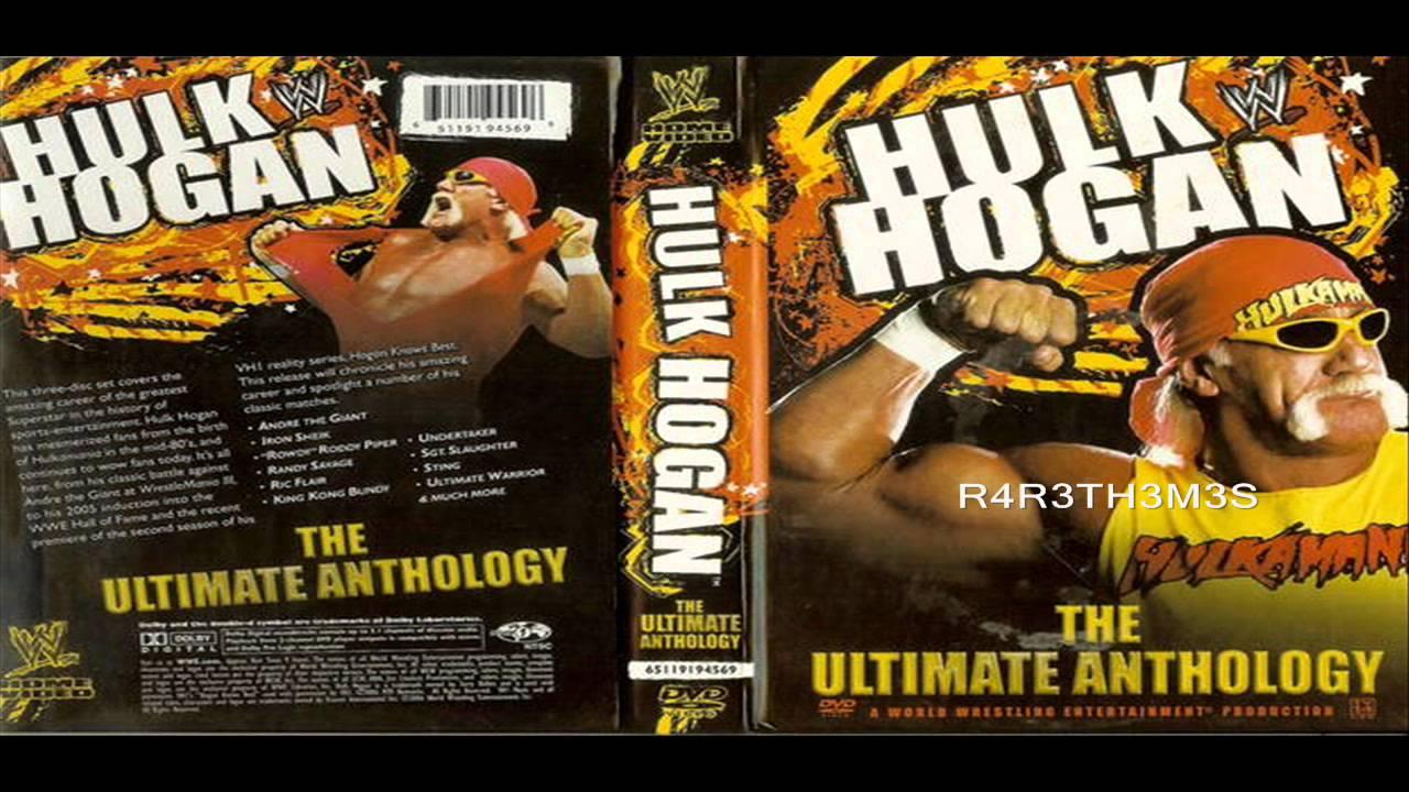 hulk hogan anthology dvd