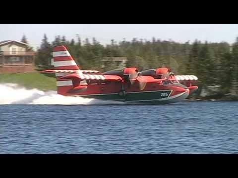 CL-215 Canadair Water Bomber May 14 2009 Deer Park
