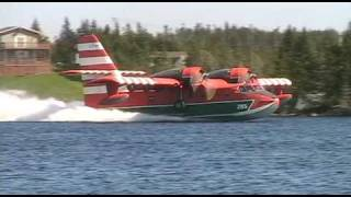 CL-215 Canadair Water Bomber May 14 2009 Deer Park