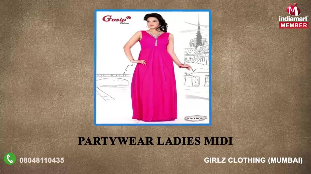 Ladies Gowns and Midis by Girlz Clothing, Mumbai - YouTube