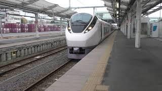 ときわ64号 E657系 K3編成 日立駅発車