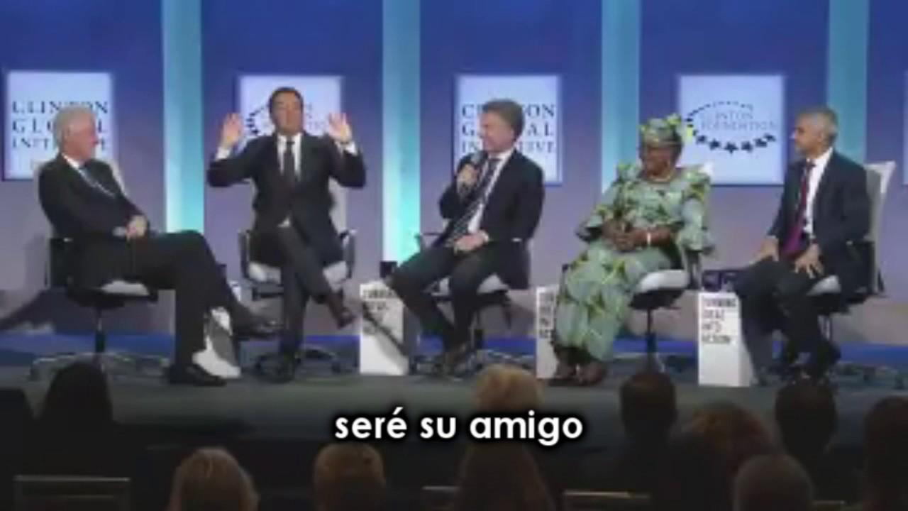Macri hace un chiste a Clinton: nadie lo entiende