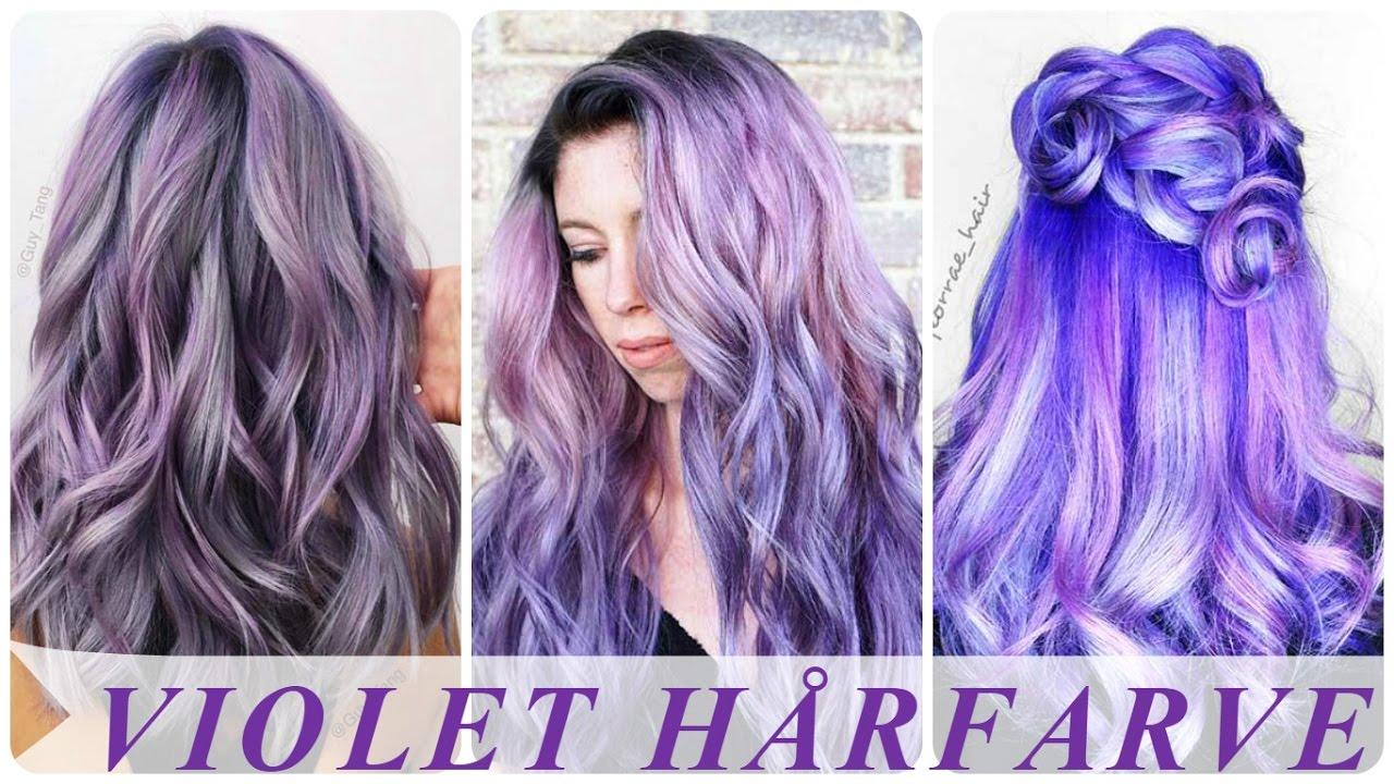 permanent lilla hårfarve