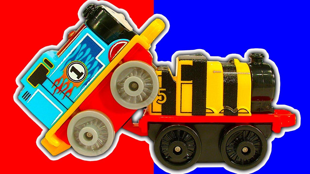 Thomas Minis 2016 Wave 3 Percy Causes Train Crashes