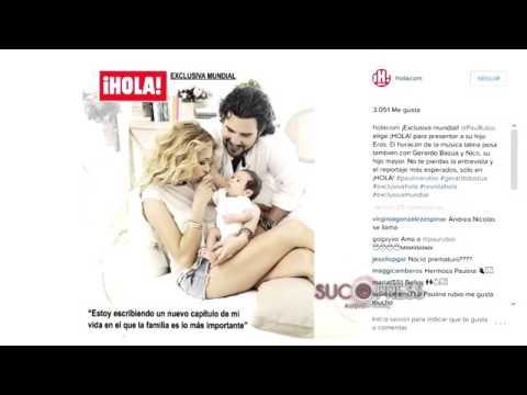 Ver Video de Paulina Rubio Paulina Rubio presenta a su bebé en Hola